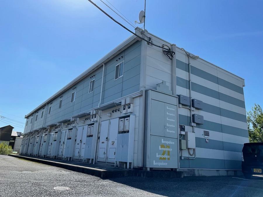 レオパレスリバーサイド下浜田Ⅱの外観