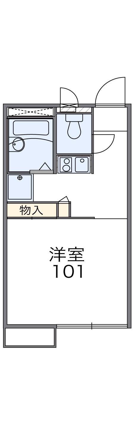 104号室