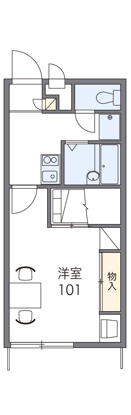 103号室